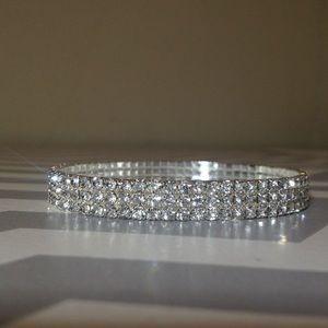 Jewelry - 💖💎 Stretchable diamond anklet 💖💎